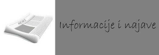 Informacije i najave